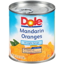 Dole In Light Syrup Mandarin Orange 11 Ounce Can - 12 Per Case