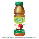Florida Natural Growers' Pride From Concentrate Shelf Stable Apple Juice 14 Fluid Ounce - 12 Per Case