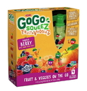 Gogo F&V Apple Carrot Mixed Berries 12/4Pk