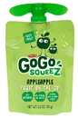 Gogo Squeez Applesauce 3.2 Ounce Pouch - 48 Per Case