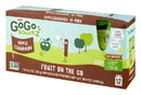 Gogo Squeez Apple Cinnamon Applesauce 3.2 Ounce Pouch -12 Per Pack - 6 Per Case