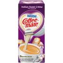 Nestle Coffee-Mate Italian Sweet Creme Flavor Liquid Creamer Singles .375 Ounce Per Cup - 50 Per Pack - 4 Per Case