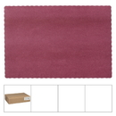 Lapaco 314-202 Placemat Solid Econo Scal Burgandy