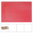 Lapaco 314-203 Placemat Solid Econo Scal Red