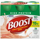 Boost High Protein Strawberry Multi-Pack 8 Fluid Ounces - 4 Per Pack - 4 Packs Per Case