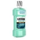 Listerine Cool Mint Zero Alcohol Mouthwash 500 Milliliter Per Bottle - 6 Per Case