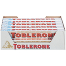 Toblerone 00549 Toblerone Chocolate Bar White Chocolate 4X3.52 oz