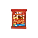 Cheez-It Grooves Zesty Cheddar Ranch Crackers 3.25 Ounce Bag - 6 Per Case