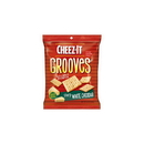 Cheez-It Grooves Sharp White Cheddar Crackers 3.25 Ounce Bag - 6 Per Case