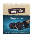 Back To Nature Classic Creme Sandwich Cookie 12 Ounce Box - 6 Per Case