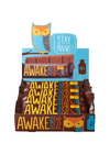 Awake Chocolate 00105U Awake Chocolate Awake Caff Milk Choc- 6X12Pk Master