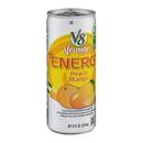 V8 Energy Peach Mango 8 Ounces Per Can - 24 Per Case
