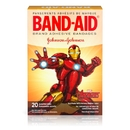 Band-Aid Marvel Avengers Assorted Sizes Bandage 20 Per Pack - 6 Per Box - 4 Per Case