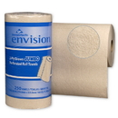 Pacific Blue Basic 2-Ply Recycled Perforated Brown Paper Roll Towels 350 Per Pack - 12 Per Case