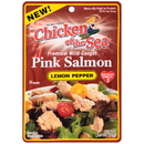 Chicken Of The Sea Skinless/Boneless Pink Salmon In Lemon Pepper Pouch 2.5 Ounces - 12 Per Case