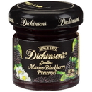 Dickinson Seedless Blackberry Preserves 1 Ounce Glass Jar - 72 Per Case