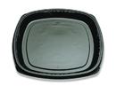 D & W Fine Pack Forum 16 Inch Black Pearl Tray 50 Per Pack - 1 Per Case