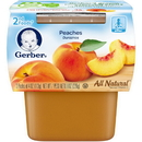 Gerber 00015000076610 Gerber 2Nd Foods Baby Food Peach 8(2X4oz)