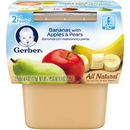 Gerber 2Nd Foods Banana Apple Pear Baby Food 8 Ounces - 8 Per Case