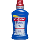 Colgate Peroxyl Mouth Sore Rinse Alcohol Free Mild Mint Mouthwash 16.9 Fluid Ounce Bottle - 6 Per Case