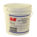 Decorating Icing Green Transmart Pail 1-1 Each