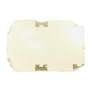 Boxit 12126B-261 White Lock Corner Bakery Box 12X12X6 1-50 Count