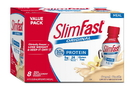 Slimfast Original Ready To Drink French Vanilla Shake 11 Ounce Per Bottle - 8 Per Pack - 3 Per Case