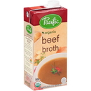 Pacific Foods 05444 Pacific Organic Beef Broth 32oz