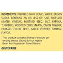 Bush'S Best Reduced Sodium Bean Pot Vegetarian Baked Beans #10 Can - 6 Per Case