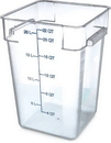 Storplus 1072607 Container Square 22 Quart Clear 1-1 Each