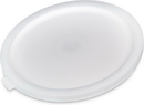 Bains Marie 120202 Lid Container 12.75 Deep White 1-1 Each