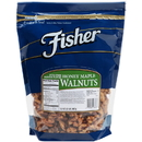 Fisher Honey Maple Walnut Halves And Pieces 32 Ounce - 3 Per Case