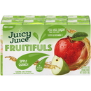 Juicy Juice Fruitifuls Organic Apple Quench 6.75 Fluid Ounce Boxes - 8 Per Pack - 4 Packs Per Case