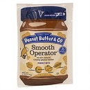 Smooth Operator 1.15Oz Squeeze Packs (Case Of 200) All Natural Peanut Butter. Vegan Non-Gmo Kosher Gluten Free Rspo