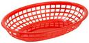 Basket Fast Food Oval Red 3-1 Dozen