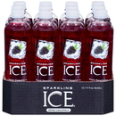 Sparkling Ice Black Raspberry Sparkling Water 17 Ounce Bottle - 12 Per Case