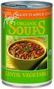 Soup Lentil Vegetable Organic Lite Sodium 12-14.5 Ounce