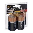 Duracell Alkaline Primary Major Cells D