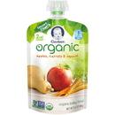 Gerber 2Nd Foods Organic Apple Carrot Squash Baby Food 3.5 Ounces - 6 Per Pack - 2 Packs Per Case