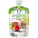 Gerber 2Nd Foods Organic Apple Mango Brown Rice Vanilla Baby Food 3.5 Ounces - 6 Per Pack - 2 Packs Per Case