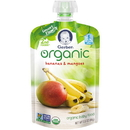 Gerber 2Nd Foods Organic Banana Mango Baby Food 3.5 Ounces - 6 Per Pack - 2 Packs Per Case