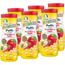 Gerber 00015000960056_ Gerber Puffs Baby Snack Apple Strawberry
