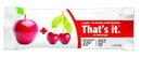 That'S It. Fruit Bar Apple + Cherry Master Case Snack Bar Fruit Gluten-Free Iw