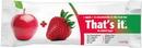 That'S It. Fruit Bar Apple + Strawberry Master Case Snack Bar Fruit Gluten-Free Iw
