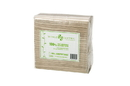 World Centric NP-SC-LN Unbleached Lunch Napkins 2 Ply -13 X 13 In - 100% Post Consumer Recyled Paper - Compostable - Case Of 4500