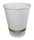 World Centric 12 Ounce Paper Compostable Double Wall Hot Bowl 50 Per Pack - 20 Per Case