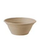 World Centric 8 Ounce Unbleached Plant Fiber Soup Barrel Bowl 500 Per Pack -1 Per Case