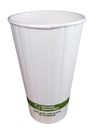World Centric 16 Ounce Double Wall Hot Cup With Bio Lining 600 Per Pack - 1 Per Case