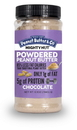 Peanut Butter & Co. All Natural Powdered Might Nut Chocolate Peanut Butter 6.5 Ounce Pack - 6 Per Case