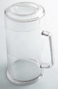 Cambro 64 Ounce Clear Covered Pitcher 6 Per Each - 1 Per Case